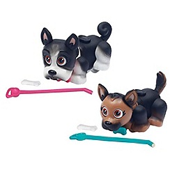 Flair - Pet Parade Twin Puppy Pack - German Shepherd and French Bulldog