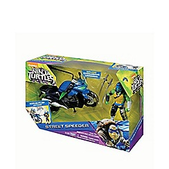 Teenage Mutant Ninja Turtles - Movie 2 Leo with Street Speeder