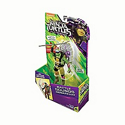 Teenage Mutant Ninja Turtles - Movie 2 Deluxe Talking Figure Donnie