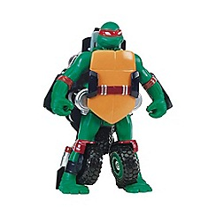 Teenage Mutant Ninja Turtles - Mutations Deluxe Figures - Turtle to Vehicle - Raph
