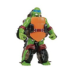 Teenage Mutant Ninja Turtles - Mutations Deluxe Figures - Turtle to Vehicle - Leo