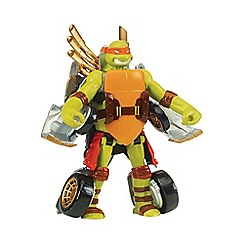 Teenage Mutant Ninja Turtles - Mutations Deluxe Figures - Turtle to Vehicle - Mikey