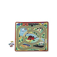 Melissa & Doug - Around the Town Road Rug