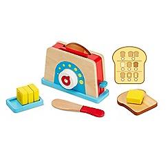 Melissa & Doug - Let's Play House! Bread & Butter Toast Set - 19344