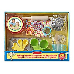 Melissa & Doug - Play Food - Baking Play Set - 19356
