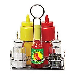Melissa & Doug - Play Food - Condiments Set - 19358