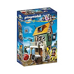 Playmobil - Super 4 Camouflage Pirate Fort with Ruby - 4796