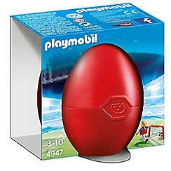 Playmobil - Soccer Player with Goal gift egg - 4947