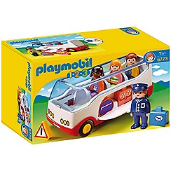 Playmobil - 123 Coach - 6773