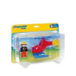 Playmobil - 123 Fire Rescue Helicopter - 6789