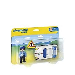 Playmobil - 123 Police Car - 6797