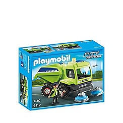 Playmobil - Street Cleaner - 6112