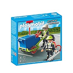 Playmobil - Sanitation Team - 6113