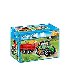 Playmobil - Large Tractor with Trailer - 6130