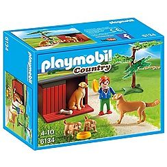 Playmobil - Golden Retrievers with Toy - 6134
