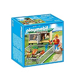 Playmobil - Rabbit Pen with Hutch - 6140