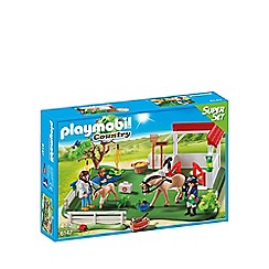Playmobil - Horse Paddock SuperSet - 6147