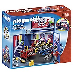 Playmobil - My Secret Motorcycle Workshop Play Box - 6157