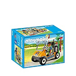 Playmobil - Zookeeper's Cart - 6636