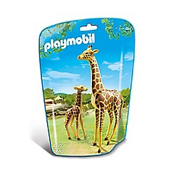 Playmobil - Giraffe with Calf - 6640