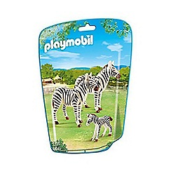 Playmobil - Zebra Family Building Kit