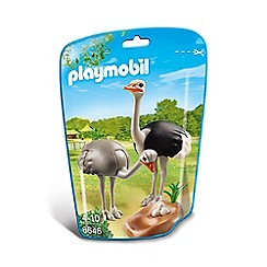 Playmobil - Ostriches with Nest - 6646