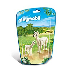 Playmobil - Alpaca with Baby - 6647