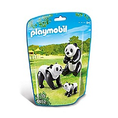 Playmobil - Panda Family - 6652