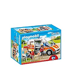 Playmobil - Ambulance with light and sound - 6685