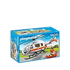 Playmobil - Flying helicopter ambulance - 6686