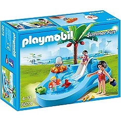 Playmobil - Baby Pool with Slide - 6673