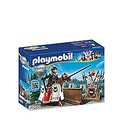 Playmobil - Super 4 Jousting Rypan, Guardian of the Black Baron - 6696