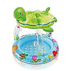 Intex - Sea turtle baby shade paddling pool