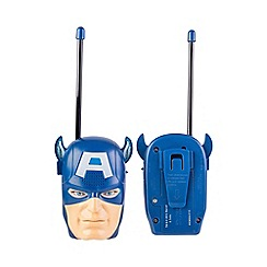 The Avengers - Captain America Moulded Walkie Talkie