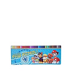Paw Patrol - 50 Pieces Colouring Pencil Tin