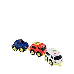 Early Learning Centre - Whizz world Emergency Vehicles Magnetic Trio Set