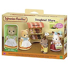 Sylvanian Families - Doughnut store with bear mother