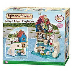 Sylvanian Families - Secret island play house