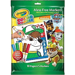 Crayola - Mess Free Colour Wonder Set