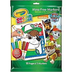 Crayola - Mess Free Colour Wonder Set