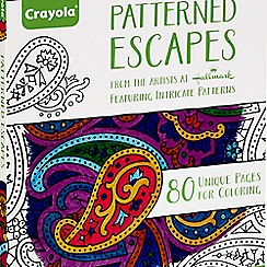 Crayola - Patterned Escapes Adult Colouring Book