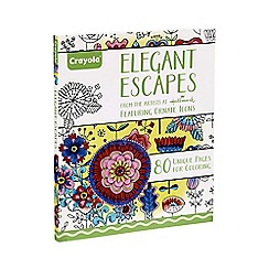 Crayola - Colouring Book - Elegant Escapes