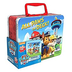 Paw Patrol - Lenticular Puzzle in Tin with Handle