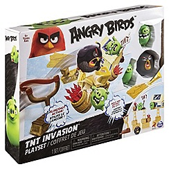 Angry birds - Attack On Pig Island Playset