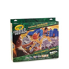 Crayola - Create 2 destroy fortress invasion
