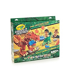 Crayola - Create 2 destroy dino destruction