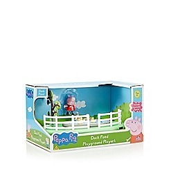 Peppa Pig - Duck pond playground set