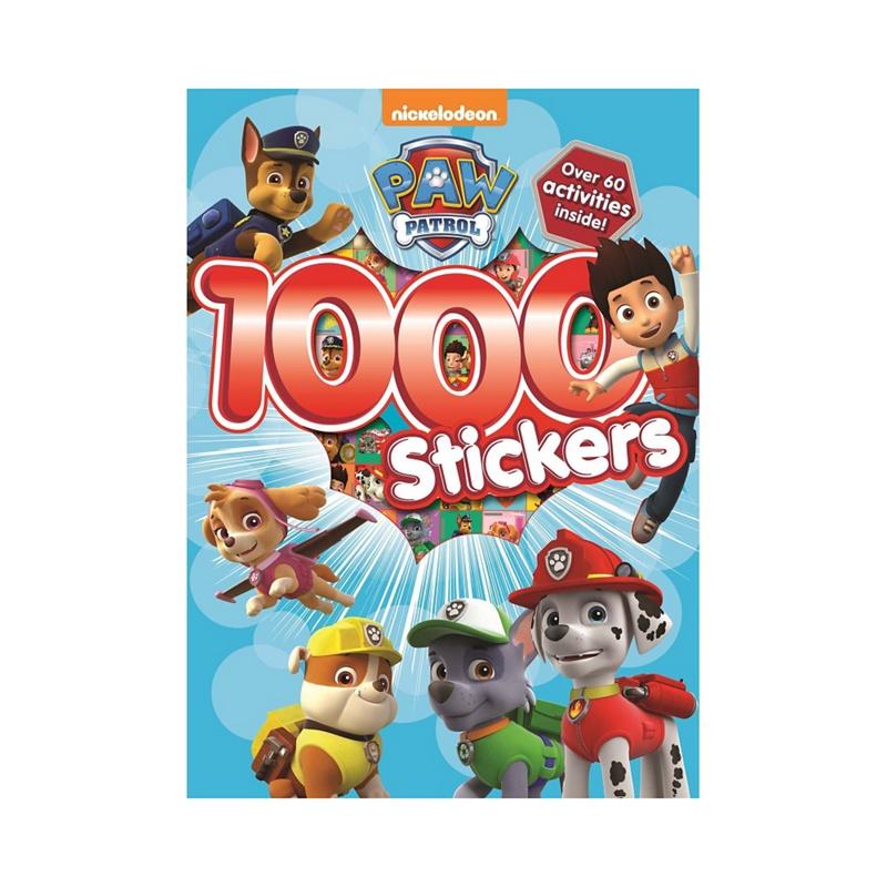 Paw Patrol 1000 Stickers activity book