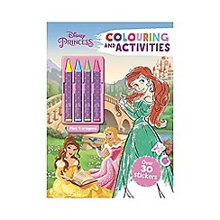 Disney Princess - Colouring and Activities