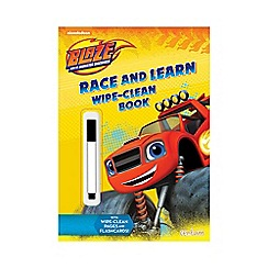 Parragon - Blaze race and learn wipe clean book